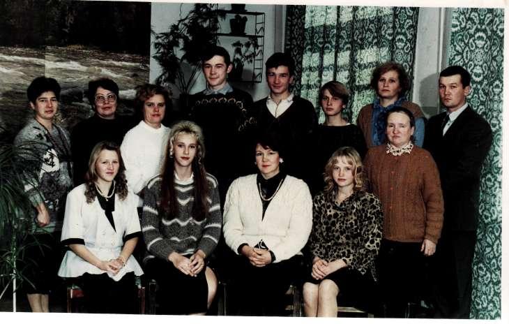 Выпуск 1997 года Школа №8 с.Лужинки