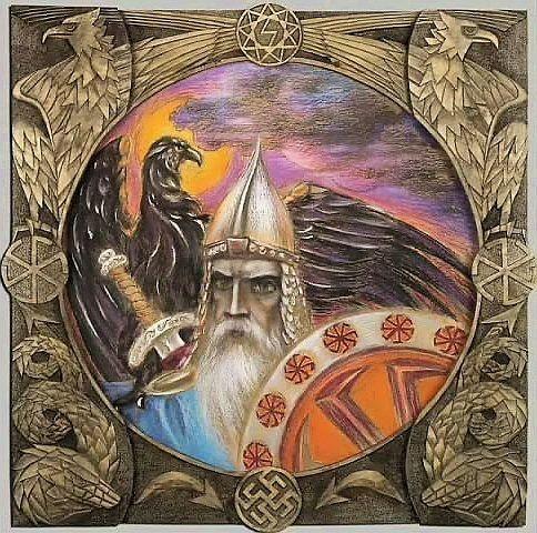 Бог Покровитель: ПЕРУН (Перкунас, Перкон, Перк, Пуруша)