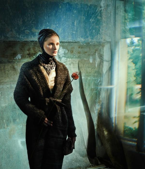 Своеобразное модное фото от фотографа Елизаветы Породиной (Elizaveta Porodina).