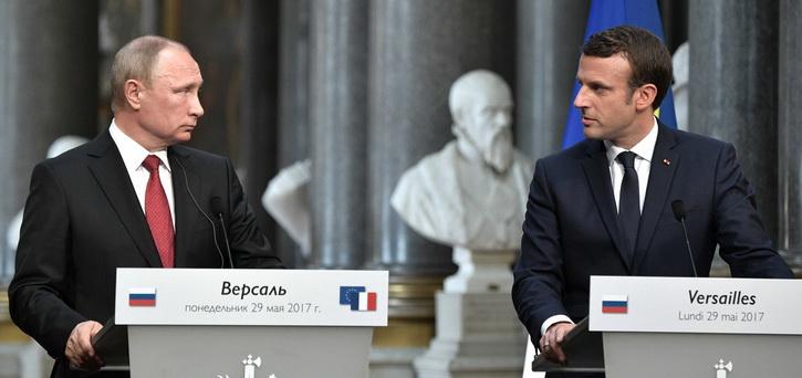 Выступление Путина во Франции вызвало переполох у Порошенко