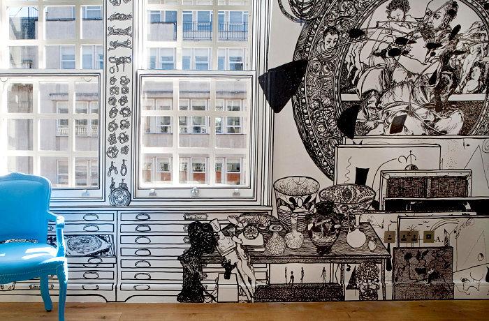 Роспись квартирных стен