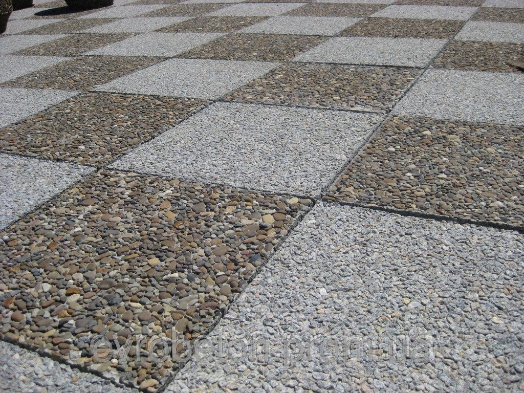 Вымывной бетон своими руками
