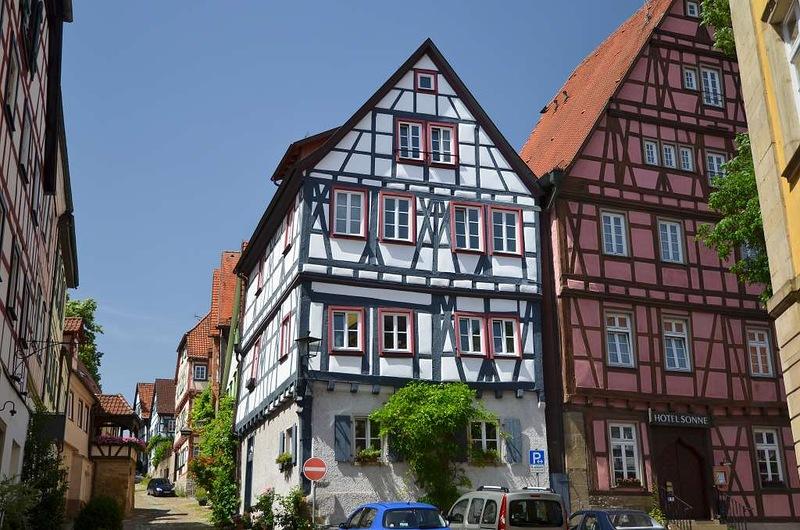 DSC0079 Bad Wimpfen stadsgezicht vakwerkhuizen 280612