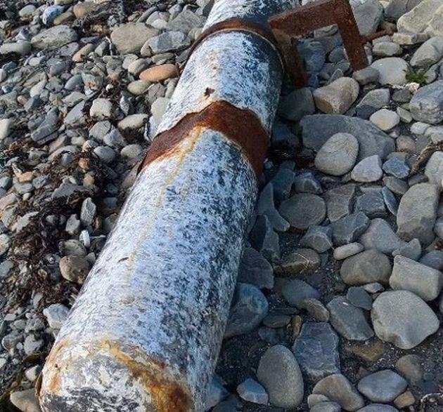 В Ирландии нашли выброшенную на берег трубу с кокаином на 5 млн евро
