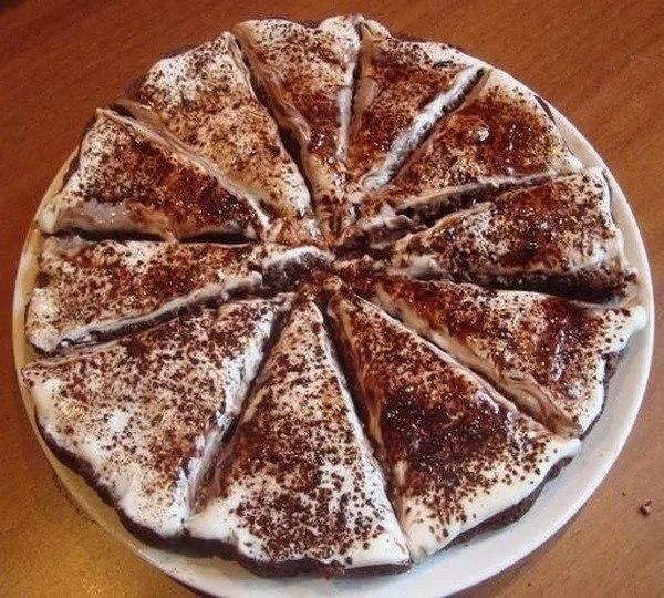 Лёгкий и очень вкусный торт «Тает во рту». Обожаю простые рецепты!