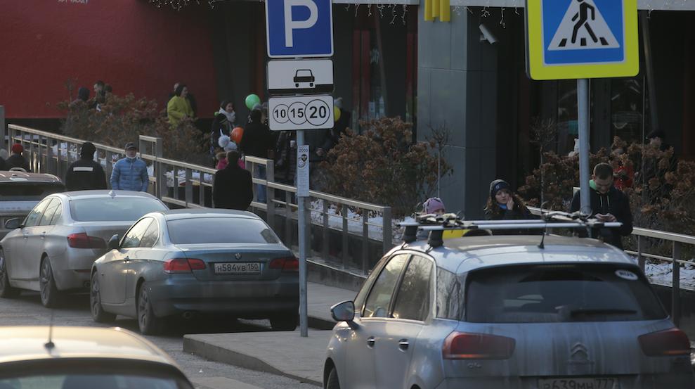 Власти Москвы будут жёстко бороться с водителями, скрывающими номера