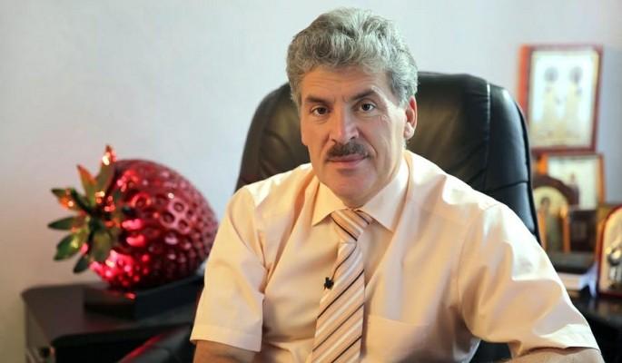Какая щедрость: Грудинин отправил в Донбасс тонны тухлятины