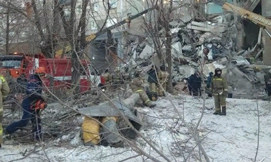 В Магнитогорске объявили режим ЧС после взрыва газа