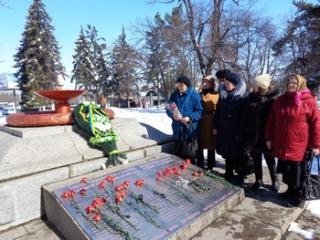 Прогрессивные социалисты  приняли участие в митинге, посвященном 74-й годовщине со Дня освобождения Первомайска в ВОВ