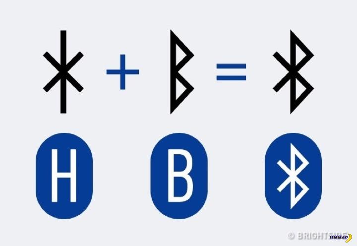 Как появился значок Bluetooth?