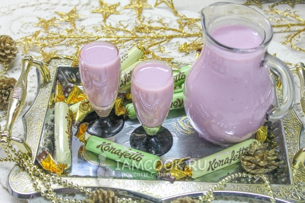 Рецепт вишневого ликера со сгущенкой