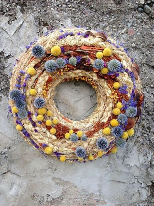 САМОДЕЛКИ. Декоративные венки