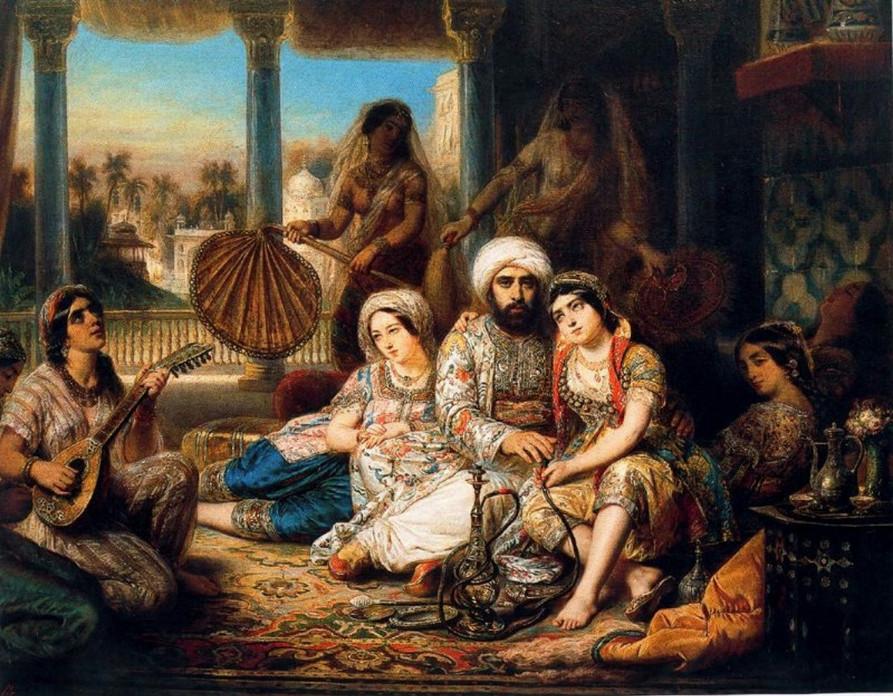 Четыре жены султана. Мудрая притча