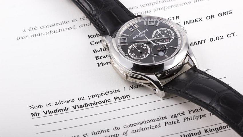 Для пополнения бюджета России: «Часы Путина» в Монако продали за €1,054 млн