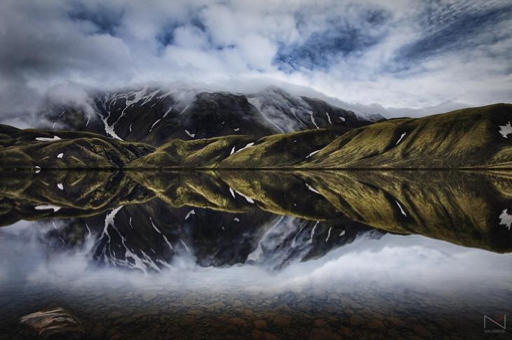 Отражения в озере - 50 красивых фотографий