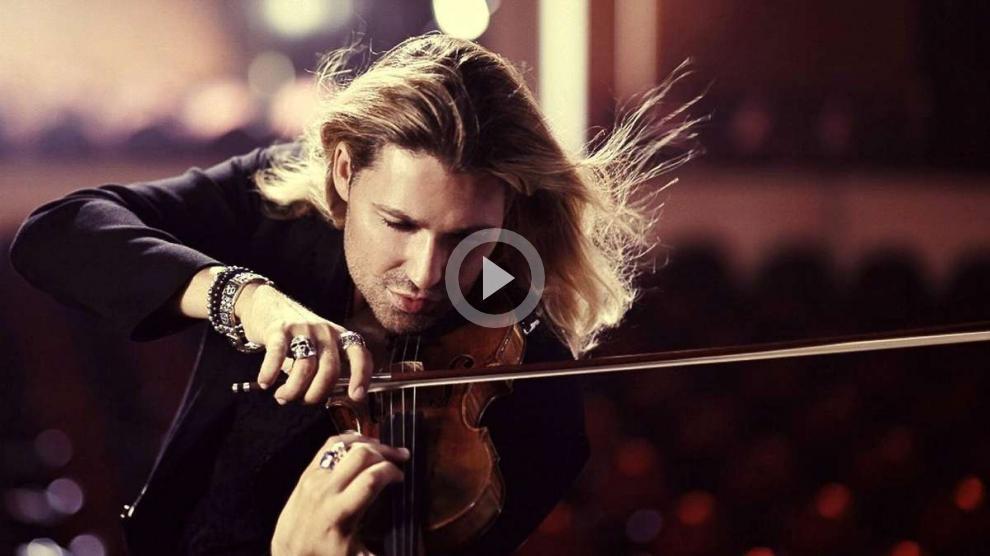 «Чардаш» в исполнении самого быстрого скрипача в мире — Дэвида Гарретта