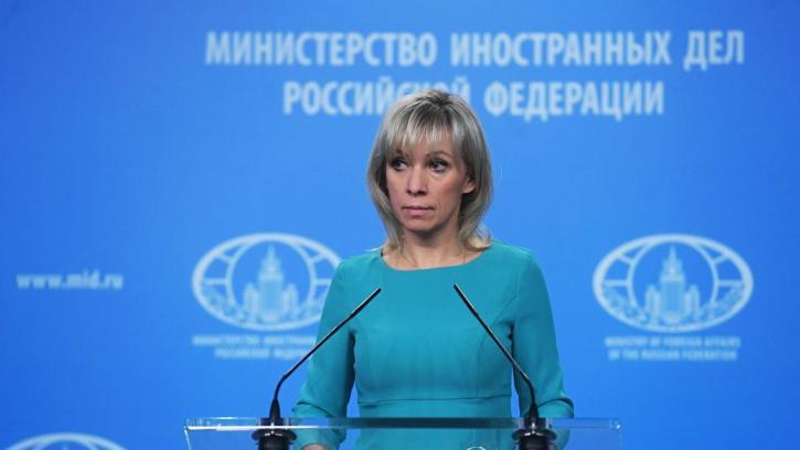 Захарова оценила письмо посла США в адрес компаний ФРГ по «Северному потоку-2»
