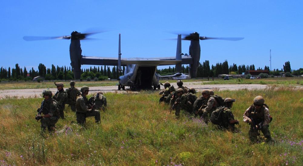 Конвертопланы  Bell V-22 Osprey на Украине