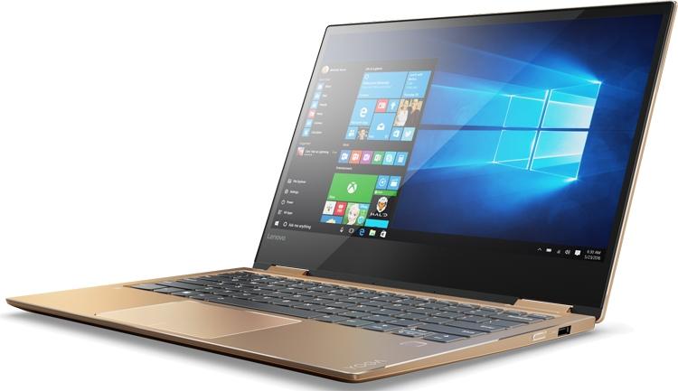 Ноутбуки-трансформеры Lenovo Yoga 720-13 и Yoga 720-15 дебютировали в России