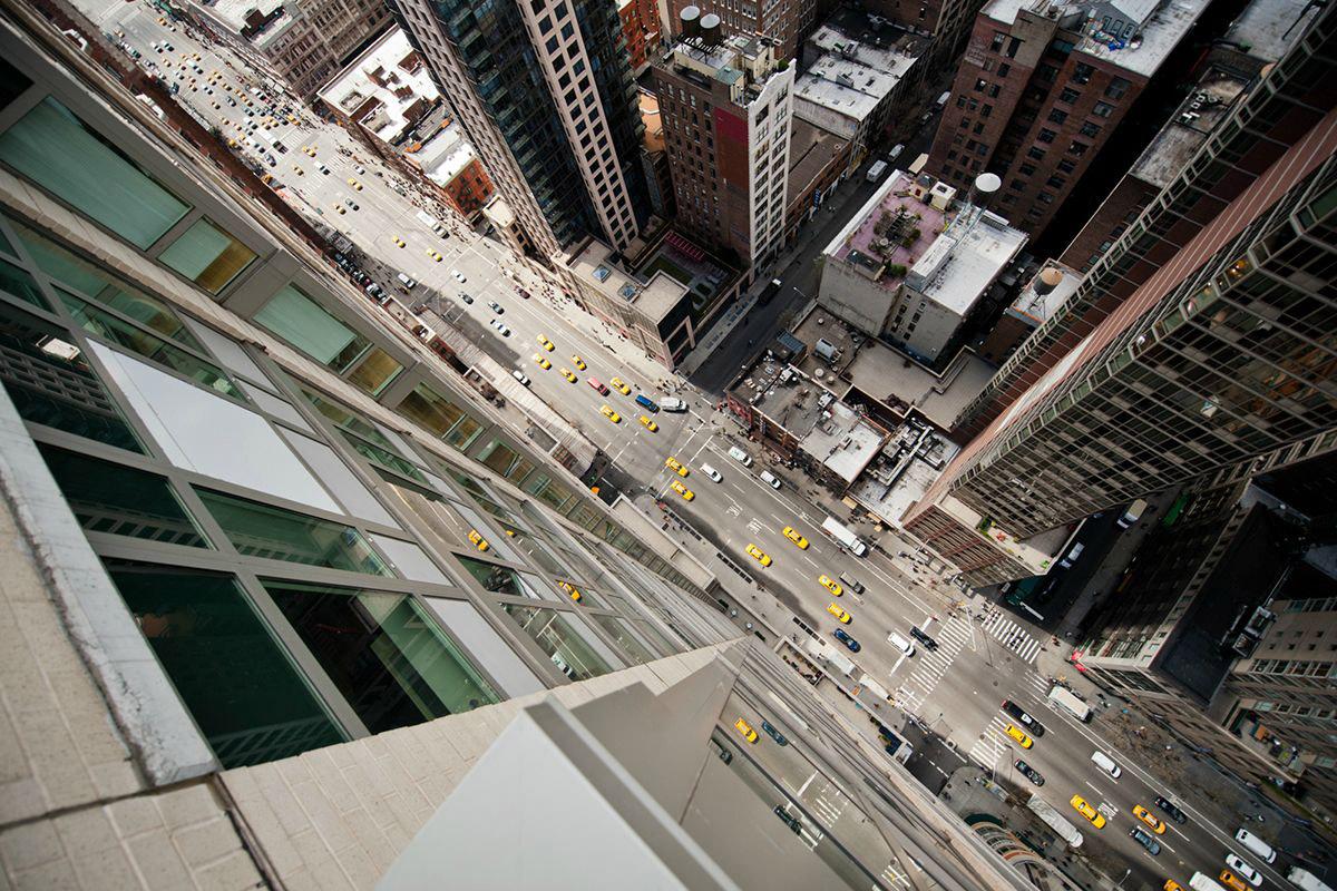 Нью-Йорк с высоты небоскребов