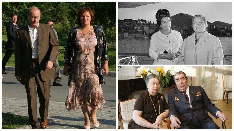 От Хрущевой до Путиной: как выглядели Первые Леди нашей страны знаменитости, леди, первые леди