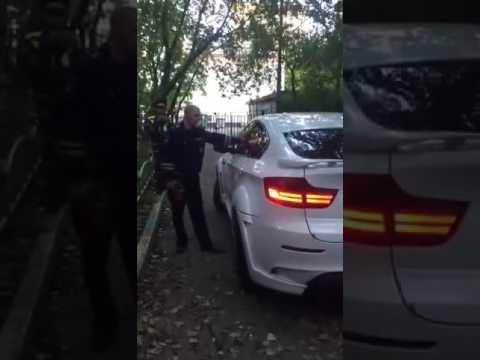 BMW x6 vs GIBDD ...вот это поворот!