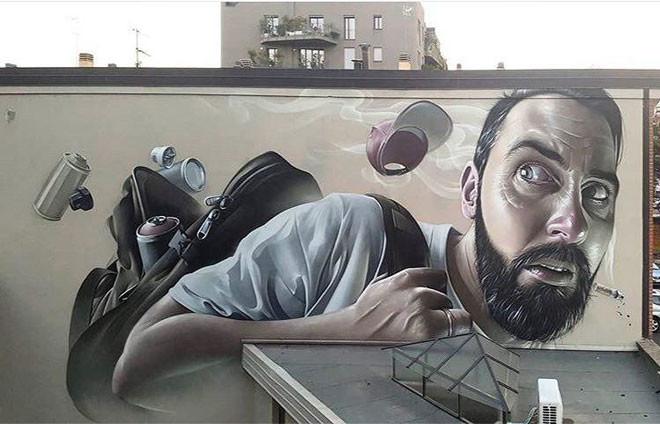 Smug One (Голландия) в мире, граффити, интересное, искусство, подборка, стрит-арт, уличное искусство
