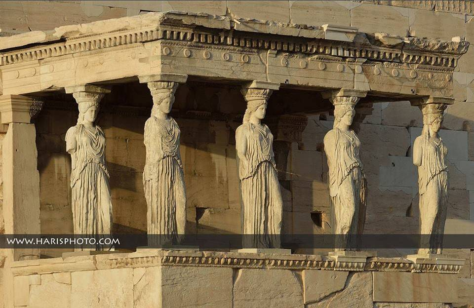 Кариатиды – дочери Афин