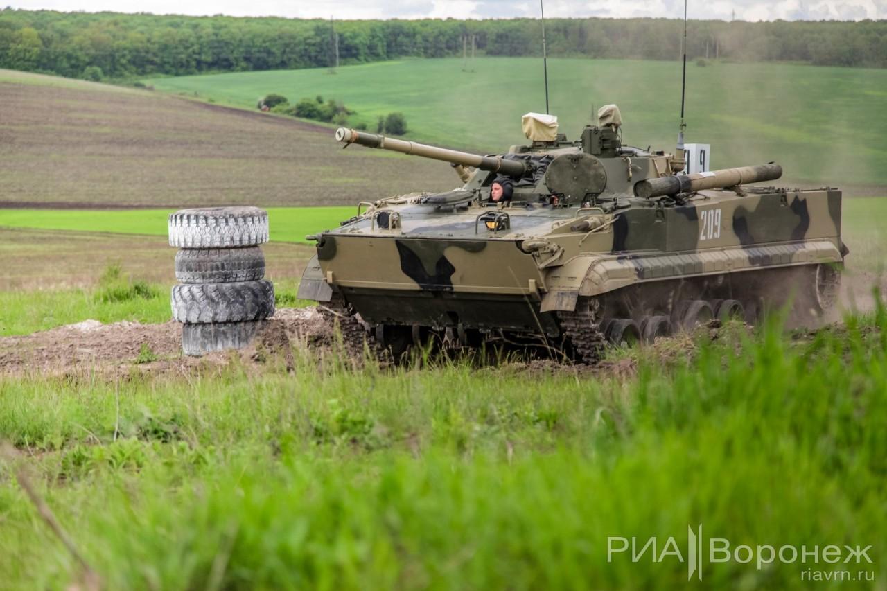 Российская Армия получает БМП-3 с тепловизорами
