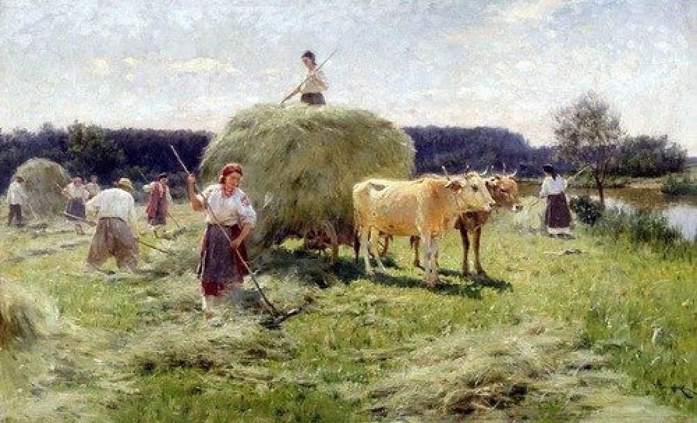 ОБЫЧАЙ КОЛЛЕКТИВНОЙ ПОМОЩИ В РУССКОЙ ДЕРЕВНЕ