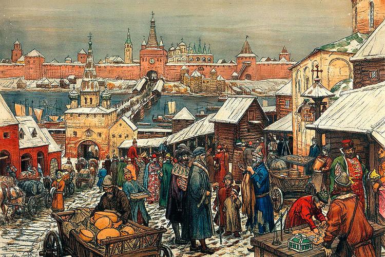 Какой увидели Россию первые гости из Европы