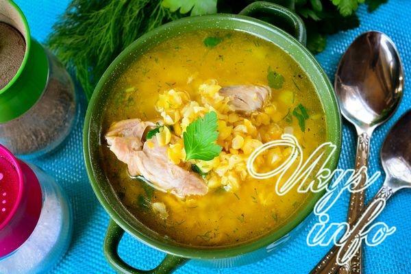 Гороховый суп без картофеля