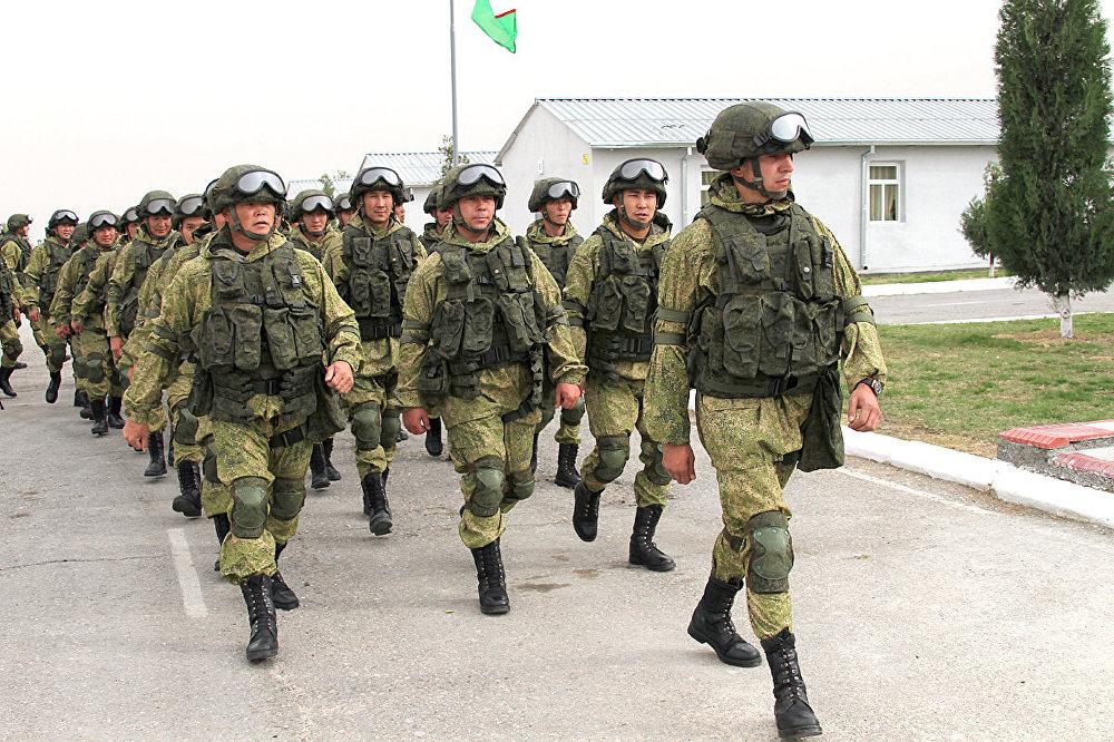 55-я отдельная мотострелковая (горная) бригада в Узбекистане