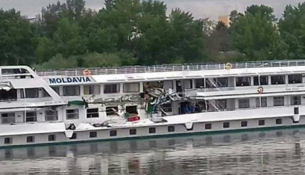НаДунае вочередной раз столкнулись два украинских судна