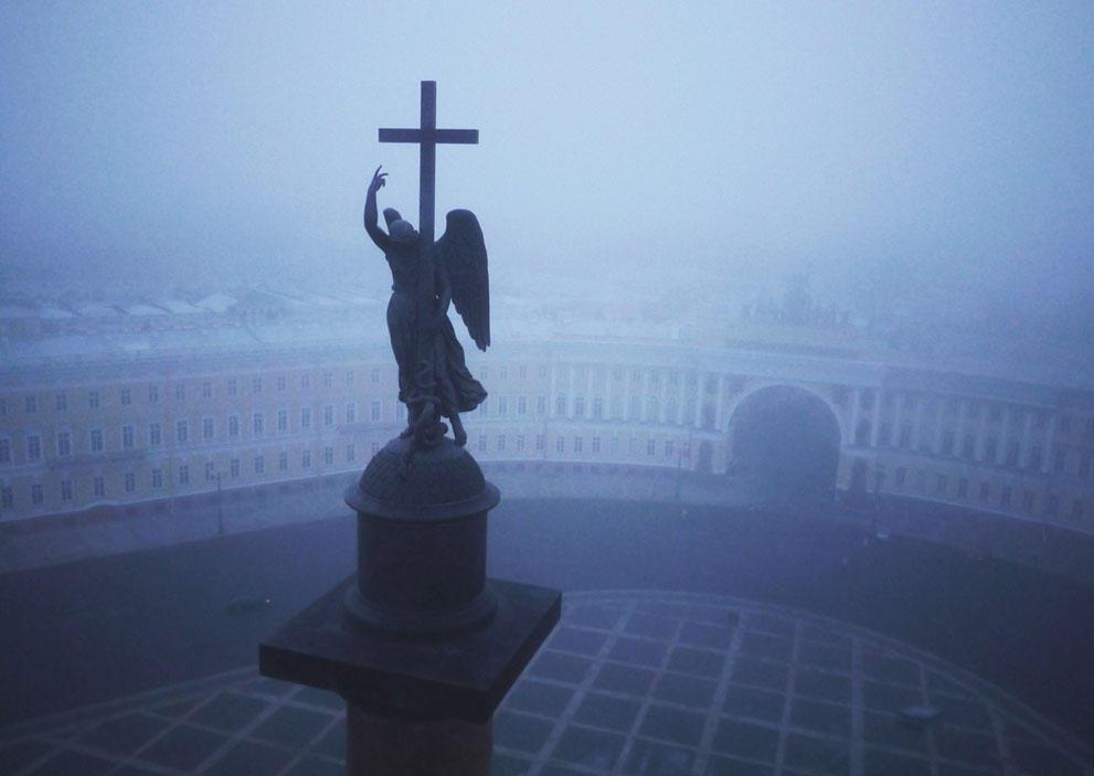 Санкт-Петербург – вид сверху. Впечатляющие кадры американского фотографа