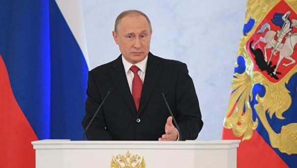Путин потребовал упростить получение паспортов РФ гражданами бывшего СССР