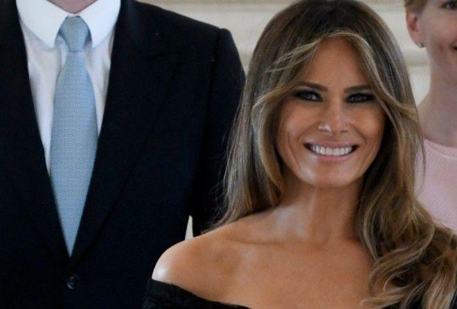 Иконы моды — соблазнительный наряд Мелании Трамп вызвал волнения в интернете