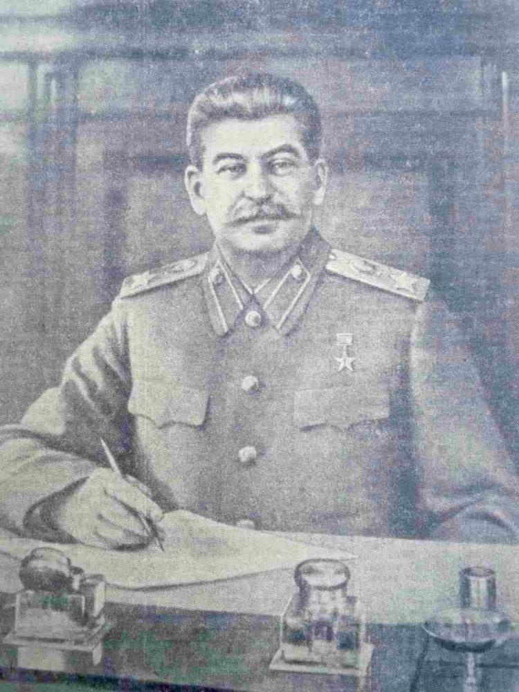 Мастер-класс от Товарища Сталина…