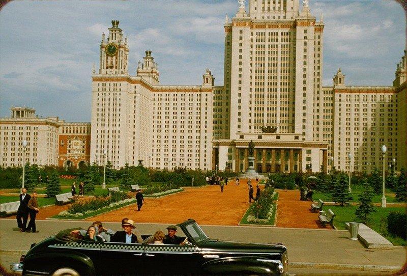 Москва в 1956 году. Фоторепортаж