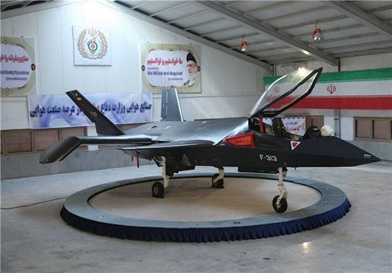 Перспективный истребитель Qaher F-313 (Иран)