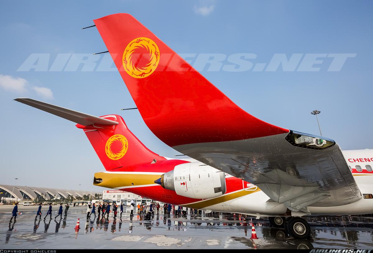 Пассажирский самолет ARJ21-700 все еще проходит доработки
