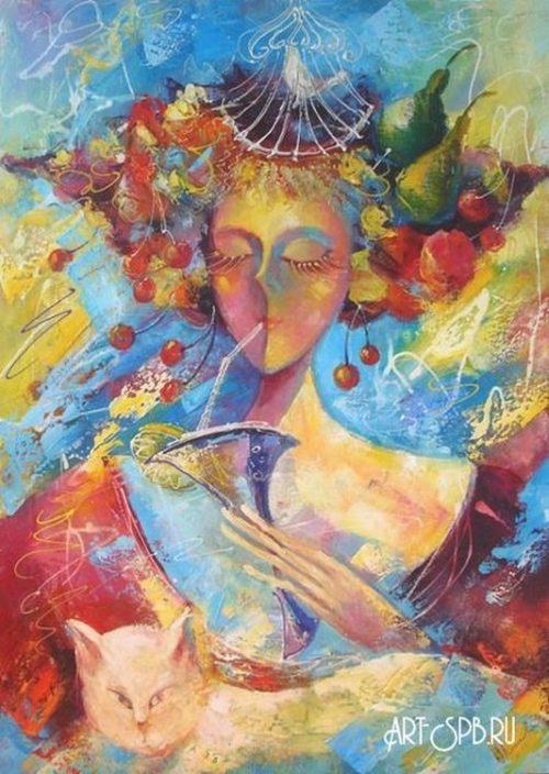 художник Лиана Моисеева картины - 13