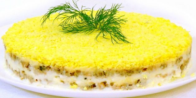 советские рецепты: Салат «Мимоза»