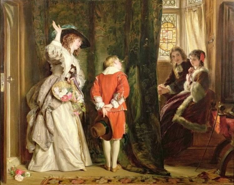 Английский художник Джон Каллкотт Хорсли (1817 — 1903)