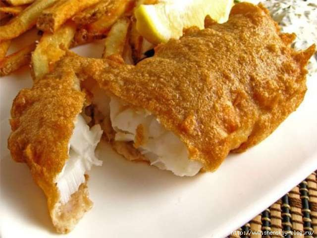 Изумительная рыбка в яичном суфле!