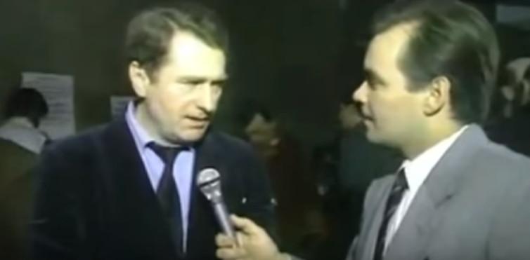 Тридцатилетний  политический юбилей Жириновского