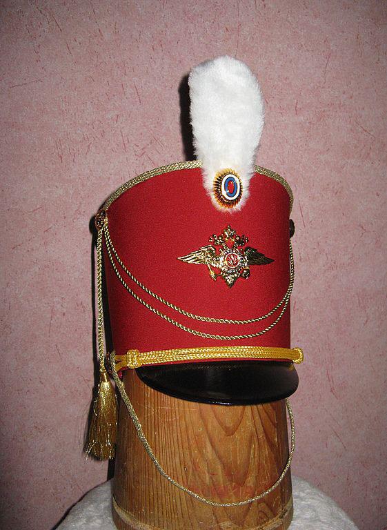 Гусарская шапка сделанная