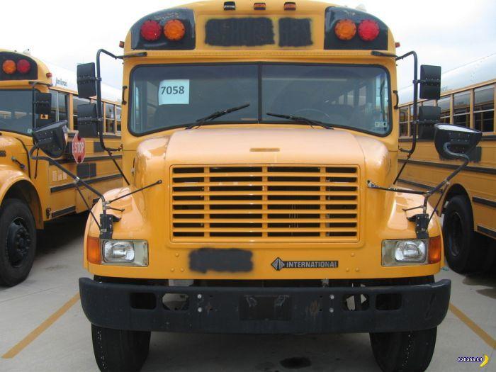 Школьный автобус стал домом на колёсах