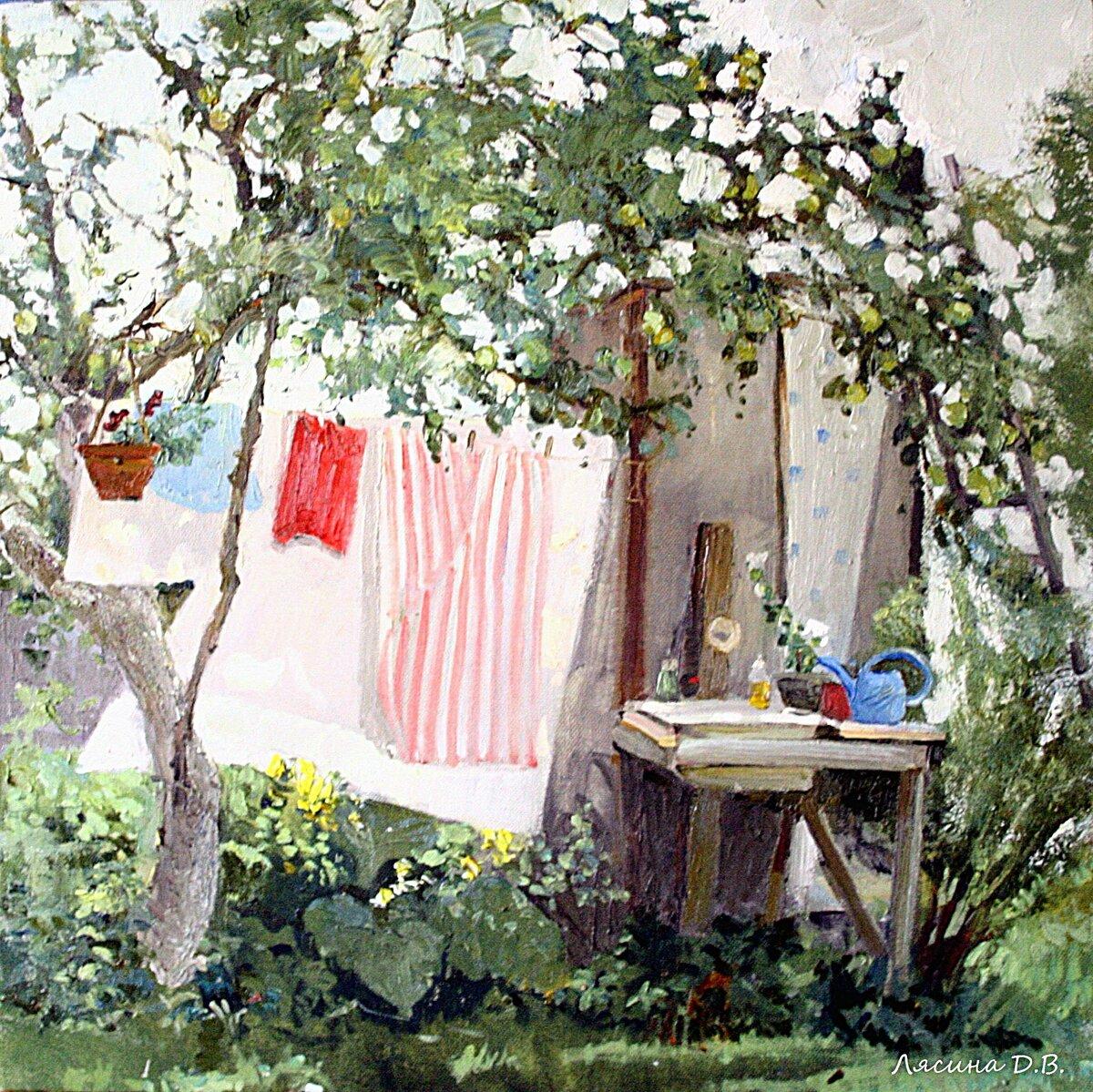 Удивительно взрослые, глубокие, житейски мудрые работы молодой художницы Дарьи Лясиной