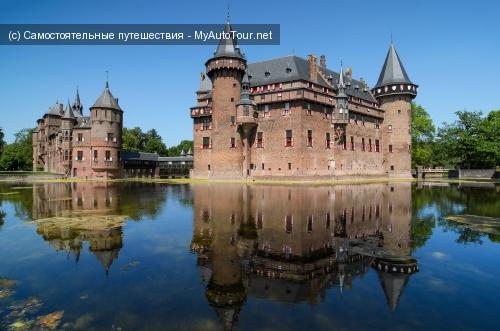 Замок Де Хаар в Голландии